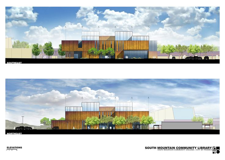 Gallery of South Mountain Community Library / Richärd+Bauer - 1