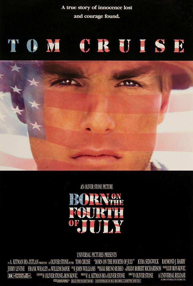 Directed by Oliver Stone.  With Tom Cruise, Raymond J. Barry, Caroline Kava, Josh Evans. The biography of Ron Kovic. Paralyzed in the Vietnam war, he becomes an anti-war and pro-human rights political activist after feeling betrayed by the country he fought for.