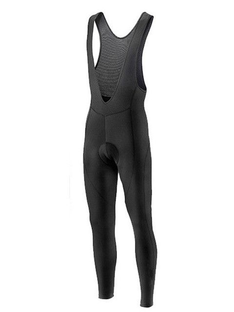 Black Winter Cycling Pants Gel Pad Bike Bicycle Trousers Long Culotte Ciclismo Men Women Thermal Fleece Cycling Wear
