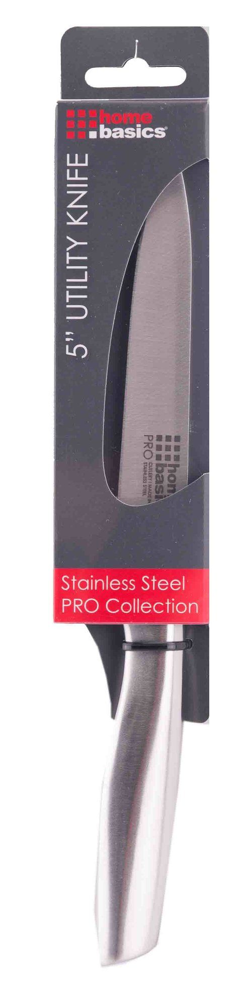 """5"""" Stainless Steel Handle Utility Knife"""