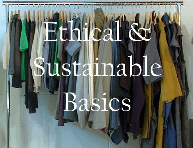 Where to buy sustainable fashion basics