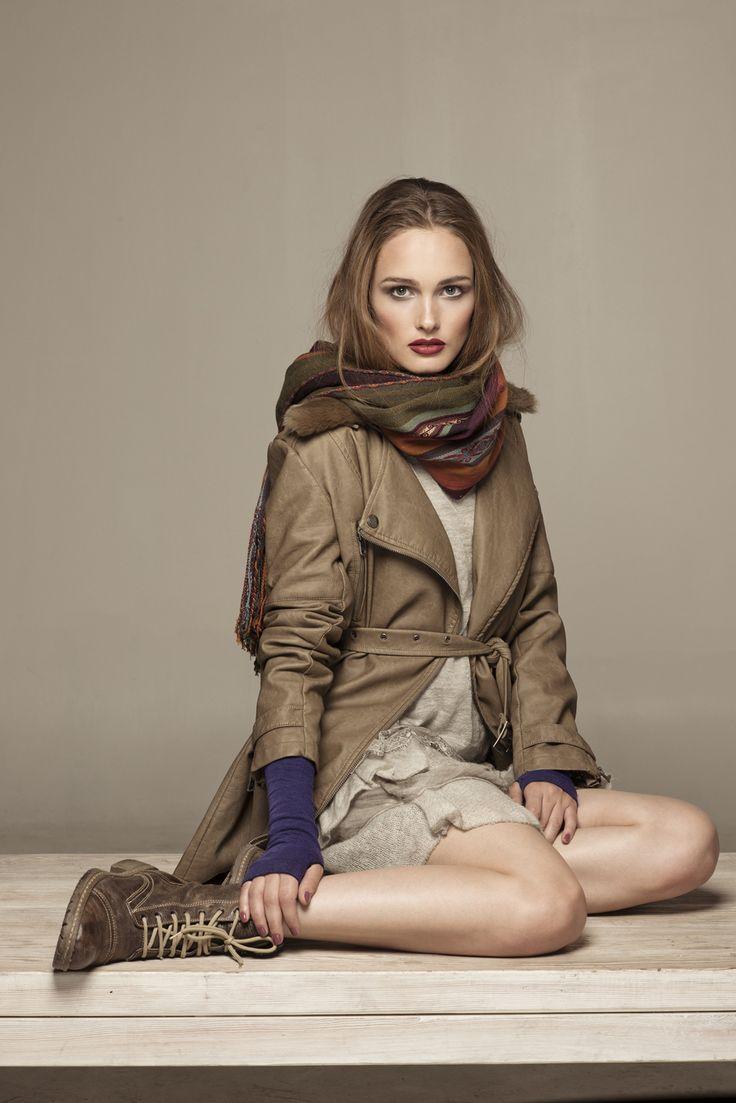 #abrigo #vestido #lineatre
