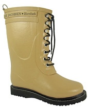 Ilse Jacobsen Wellington Boot RUB15 is a 3/4 length, lace up wellington boot with a fleece lining for added warmth.    Ilse Jacobsen have also designed a sock for this boot for even more warmth.     RUB15 is the perfect fashion welly boot that is designed to keep your feet warm.