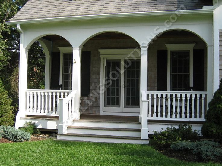 Deck And Porch Railing Ideas But I Like Straight Post