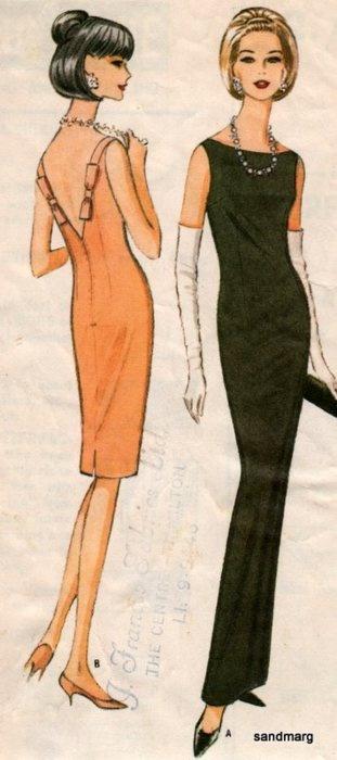 1960s Fashion McCall's 8062