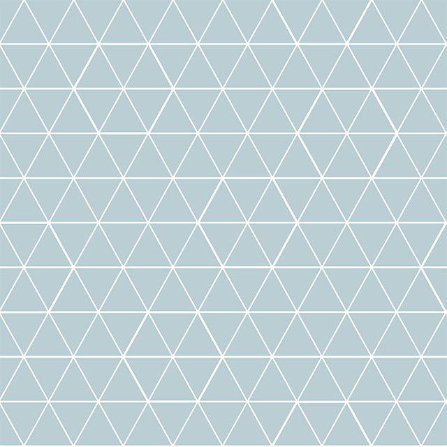 Papier peint vinyle sur intissé motif géo. bleu mat - CASTORAMA