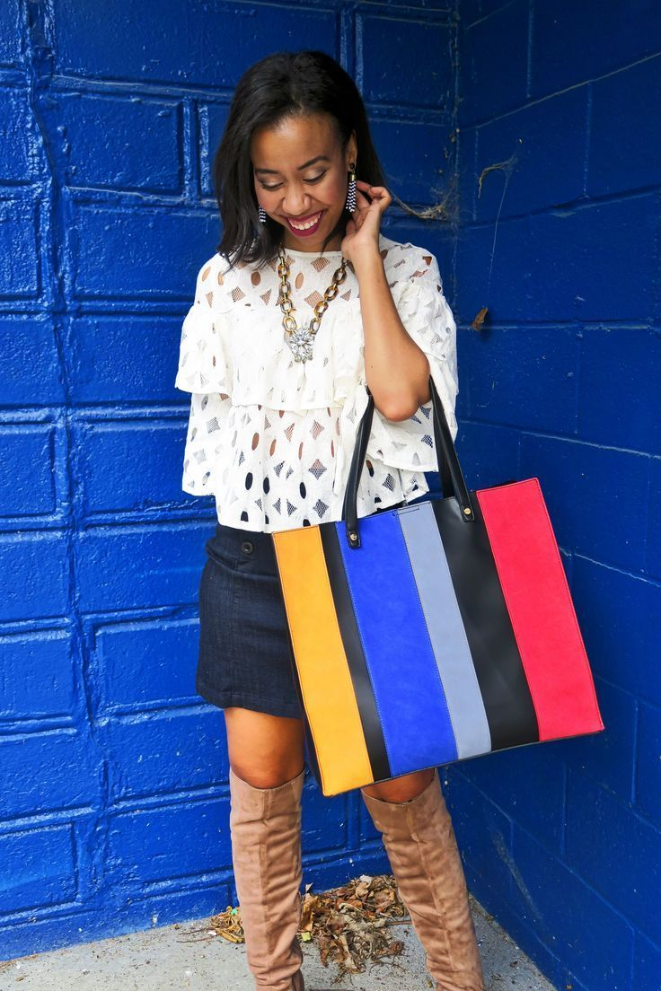 Street style blogger, What Nicole Wore, wears the LORAC Unzipped Palette with NARS blush, Colorescience Highlight, and ColourPop Ultra Matte Lipstick. // lorac unzipped look, colourpop tulle swatch, fall lipstick matte, fall lipstick for dark skin, best fall lipstick