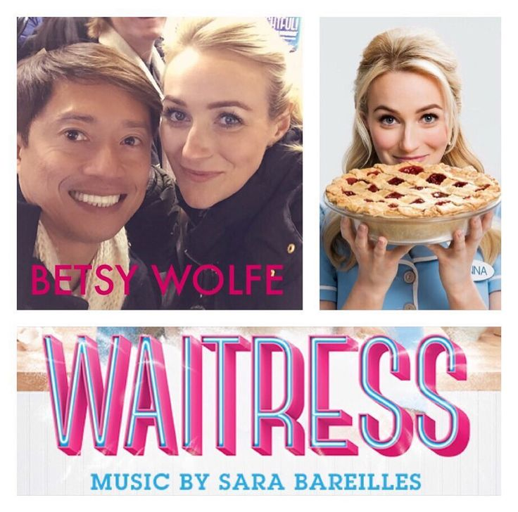 INY! ...Betsy Wolfe & Jason Mraz made our Thanksgiving day extra sweet and special! What an incredible cast! Get this show on your must-see list on Broadway! #Waitress #BetsyWolfe #JasonMraz