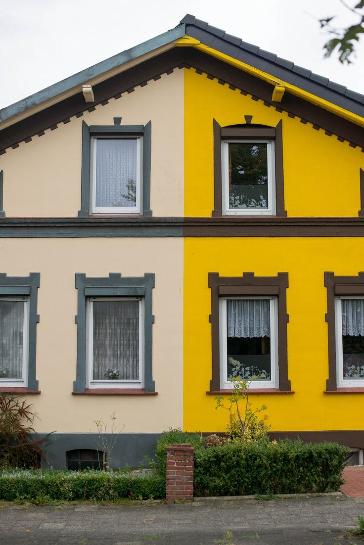 Deutsche Einheit - Doppelhaushälfte