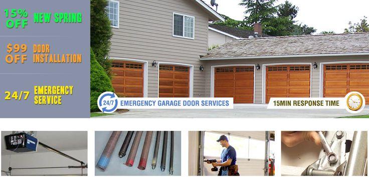97 best business images on pinterest carriage doors for Garage door repair lakewood