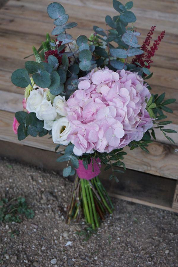 M s de 25 ideas fant sticas sobre ramos de novia de - Decoracion con hortensias ...