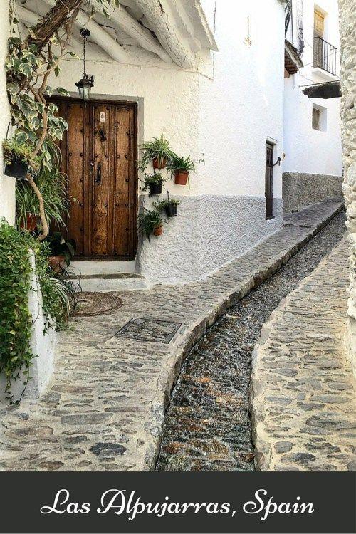 Las Alpujarras: Walking from Pampaneira to Búbion - Aplujarras in Spain. Most Beautiful Villages in Spain. Best Villages in Spain. #spain #travel #granada #alpujarras #lasalpujarras #pampaneira #lanjaron #villages #spanish #bubion