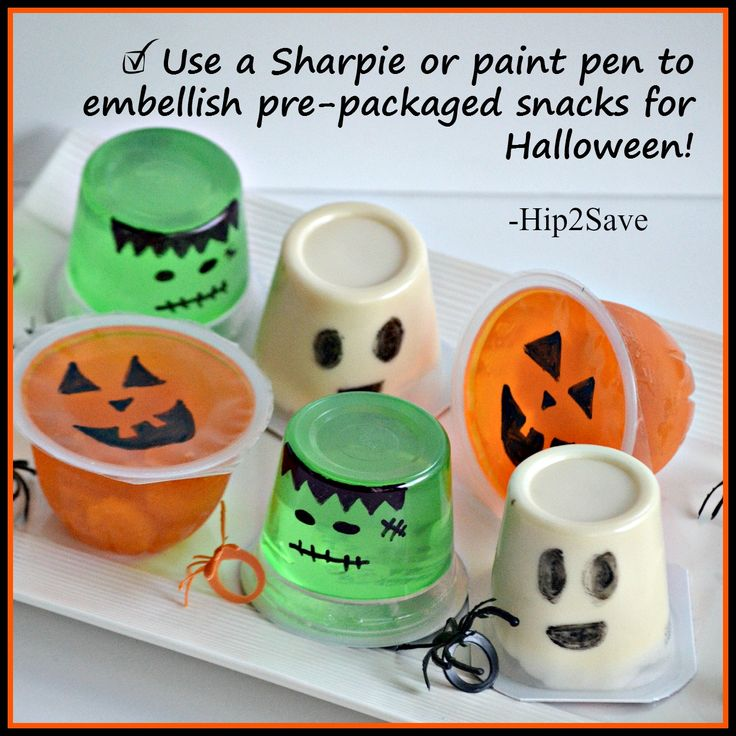 Easy & FUN Halloween Snack Idea – Hip2Save
