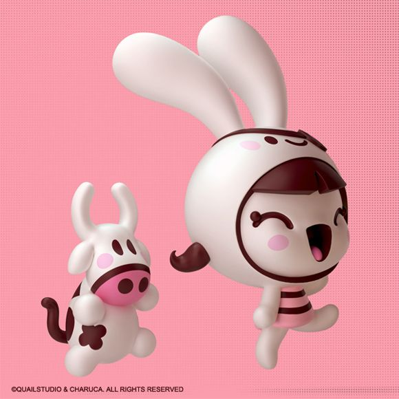 Cowly and Carmi 3D by Charuca Vargas, via Behance