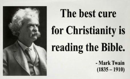 Agnostic Quotes Funny | Mark Twain Quote « Atheist Pictures Atheist Pictures