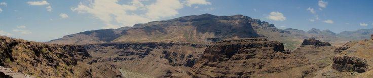 En el mirador de Guriete. Santa Lucía de Tirajana. Isla de Gran Canaria