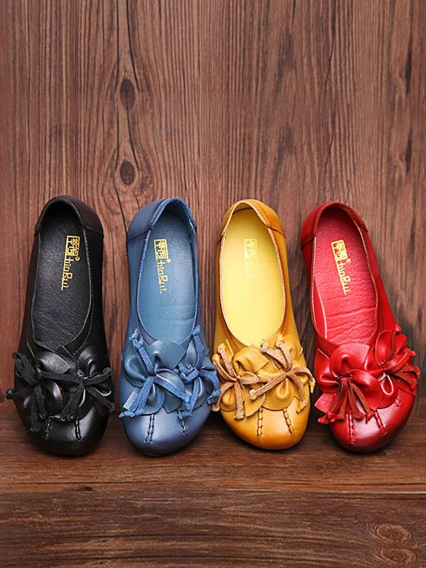 Handmade Leather Shoes,Leather Shoes outfit, Women Flat Shoes,Office Leather Shoes