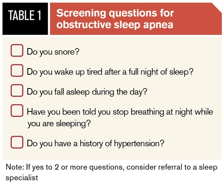 Many go undiagnoised for sleep apnea. How many questions do you answer yes to?