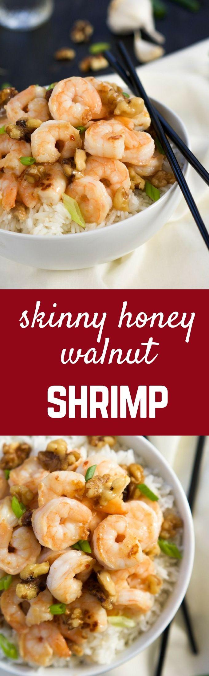 Honey Walnut Shrimp Recipe - get the takeout copycat on RachelCooks.com! You'll…