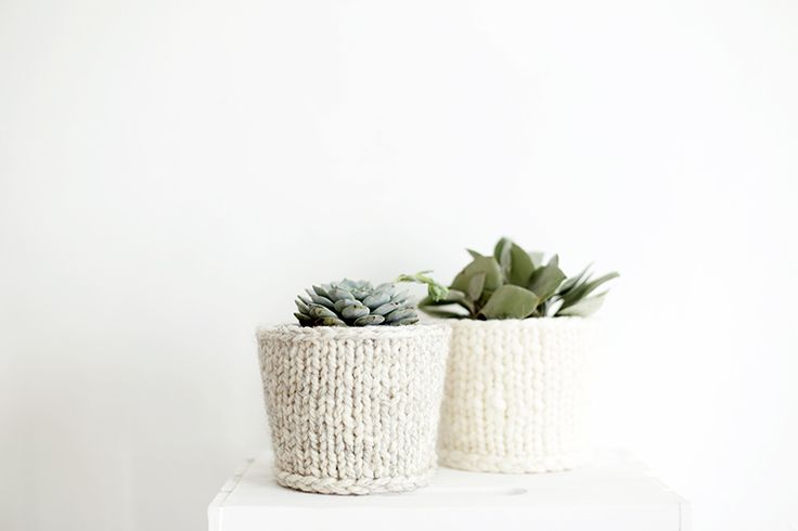 102 Best Images About Home Decor Knitting Patterns On