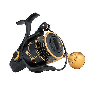 The PENN Slammer III is back by popular demand. Built for heavy-duty fishing from either boat or shore, and trusted by charter captains all over the world. The Slammer III reels feature our new IPX6 Sealed System which keeps water out of the gear box and drag system. We're also using our updated Slammer Drag System which now utilzes our proprietary Dura- Drag material.