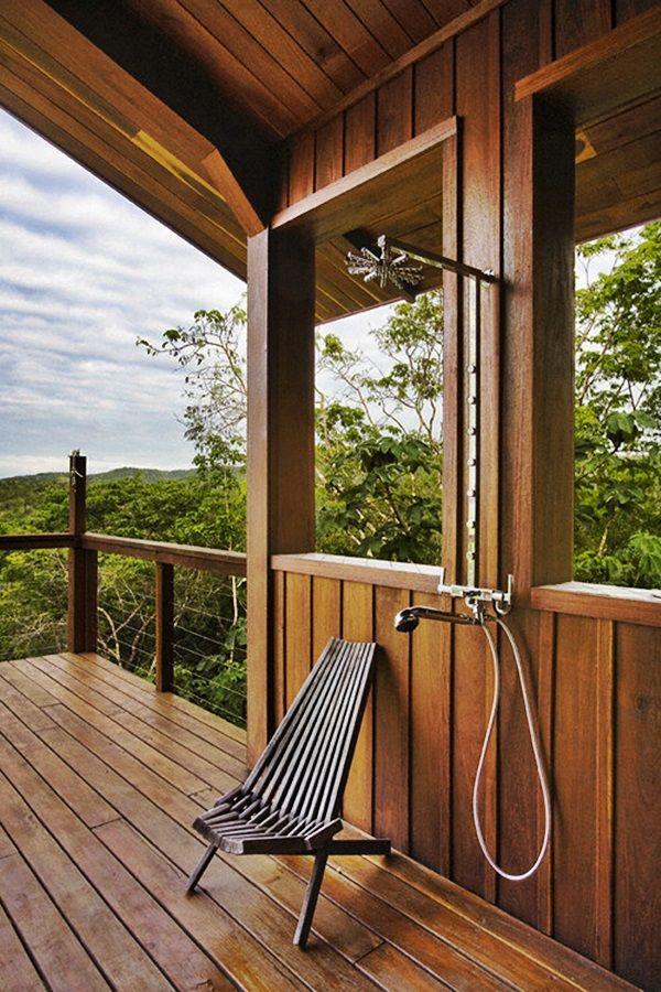 belize residence outdoor shower tropical bathroom other metro robert granoff