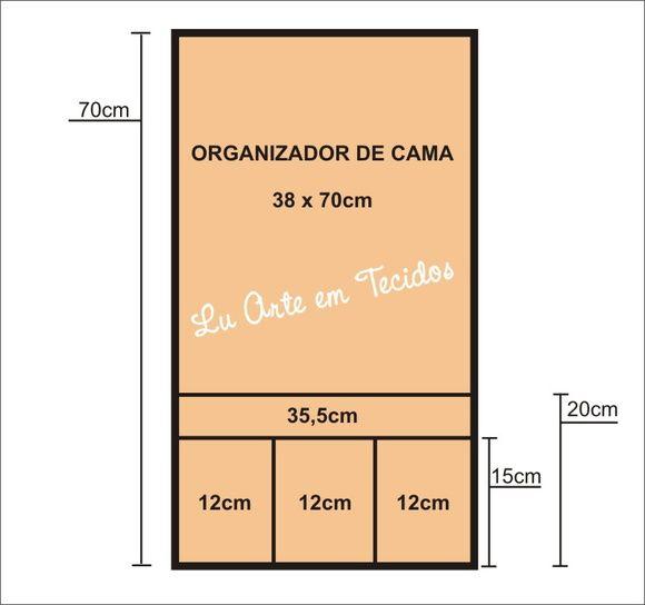 Organizador para Cama Box (ESGOTADO)