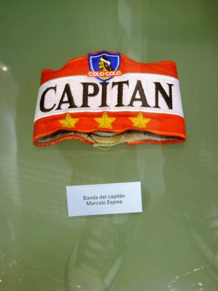 Museo #COLOCOLO, Santiago de Chile. Jineta de Capitán de Marcelo Fabián Espina ...