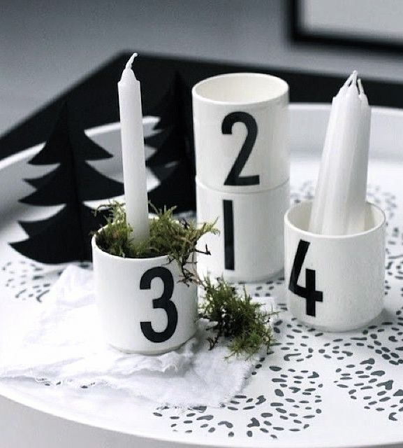 Via Home und Living   Design Letters   Nordic Christmas