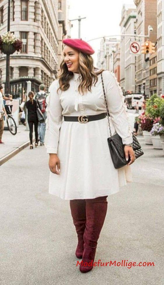 Wunderbare Große Größe Outfit Ideen für Herbst Winter | Mode für Mollige Frauen – Seite 13
