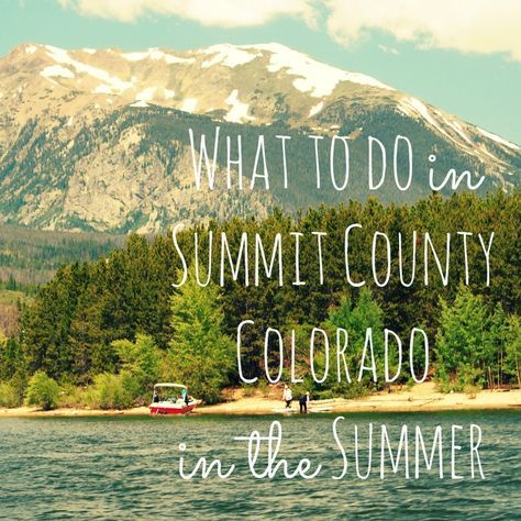 Wondering what to do in Summit County, Colorado? While Colorado's Rocky…