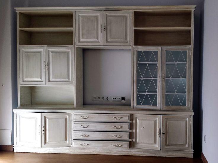 17 mejores ideas sobre aparadores blancos en pinterest - Muebles antiguos pintados de blanco ...