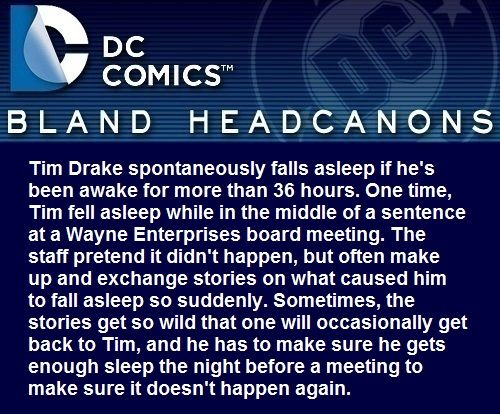 is this really about Tim Drake or Alex??
