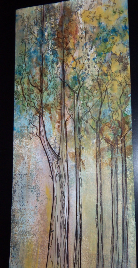 27 best images about forest paintings on pinterest for Painting a forest in acrylics