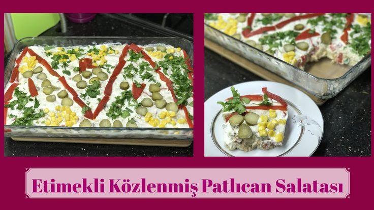 Etimekli Közlenmiş Patlıcan Salatası - Naciye Kesici - Yemek Tarifleri