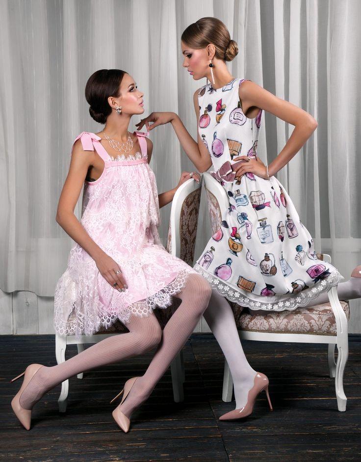 Pintel Store — Women Dresses & Suits #editorials #fashion #shooting #Pintel #dress #silk #lace #girl #cafe