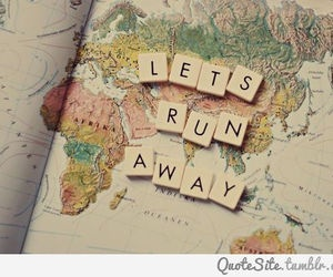 Lets run away and spend the rest of time with each other..<3