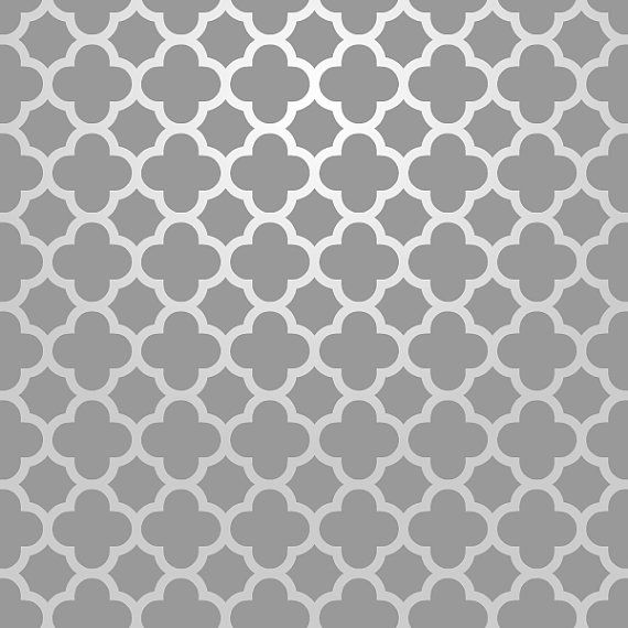 Modèle d'Allover marocaine de pochoir de mur réutilisables.  Disponible en 10 ou 14 Mil Mylar, sans frais supplémentaires.  SKU : S0015