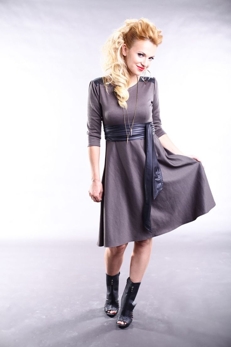 REVERSIBLE DRESS - TAUPE by Judy Design