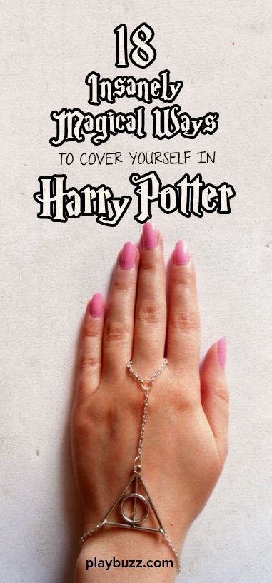 From body ink to handmade accessories, these enchanting designs will be the portkey to your Harry Potter obsession.s