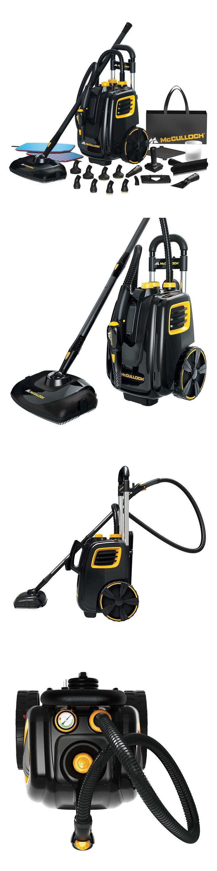 Carpet Steamers 79656: New! Mcculloch Mc1385 Deluxe Canister Steam System Cleaner - Free Shipping -> BUY IT NOW ONLY: $184 on eBay!