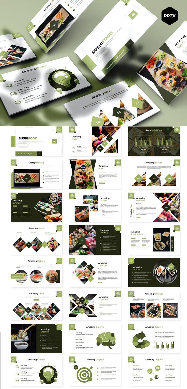 Sushifood Powerpoint Presentation Template