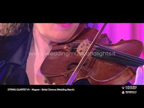 String Quartet #1 - Air On The G String   http://weddingmusicandlights.it/