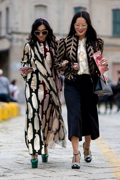 There's something special about the street style at Milan Fashion Week. See the very best looks outside the Spring 2017 shows.