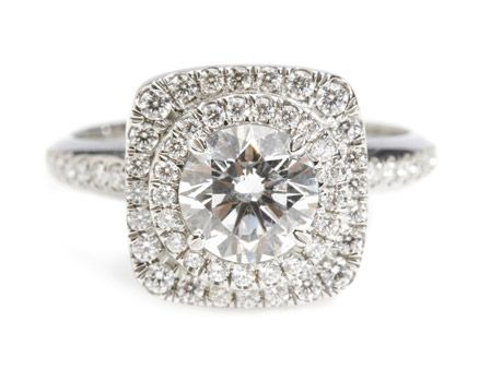 For the bride who can't get enough bling