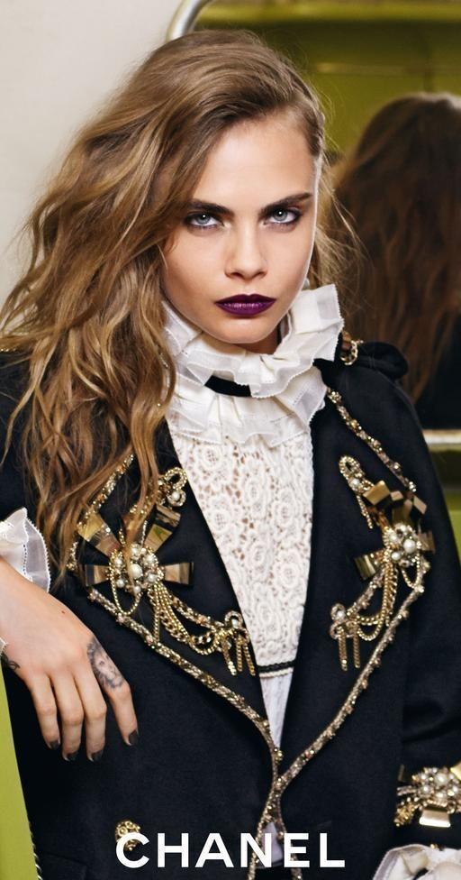 Cara Delevingne Chanel