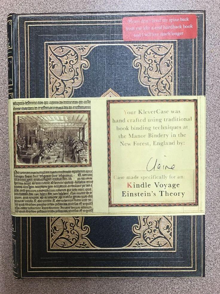 KleverCase EINSTEIN'S THEORY Book Cover Case  Amazon Kindle Voyage NEW  | eBay