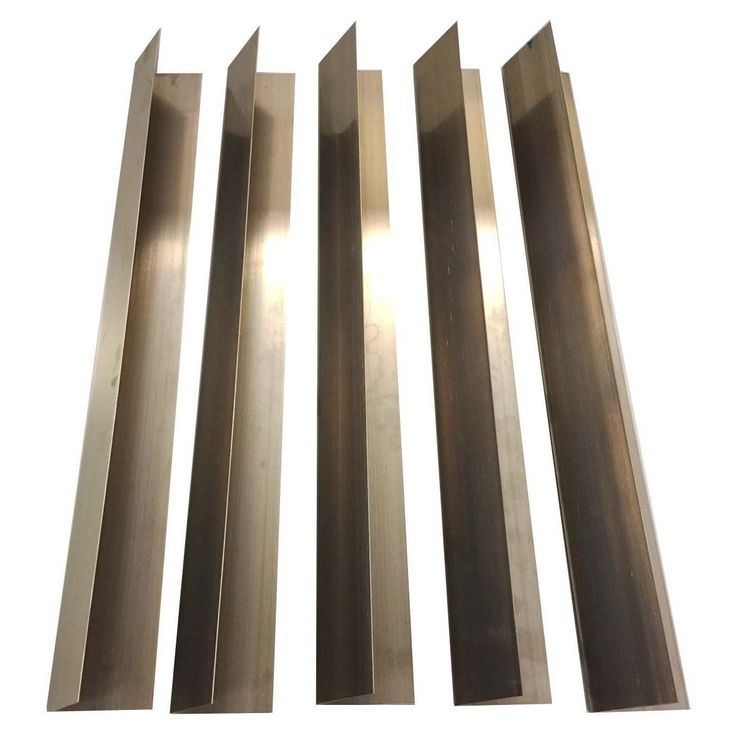 Crucial Long Lasting Stainless Steel (Silver) Flavorizer Bars for Weber Grills (Pack of 5) (grill parts)