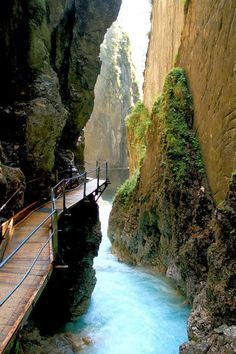 Thermal Waterfall Spa, Mittenwald, Germany #germany #europe 1.5 hours SW of…