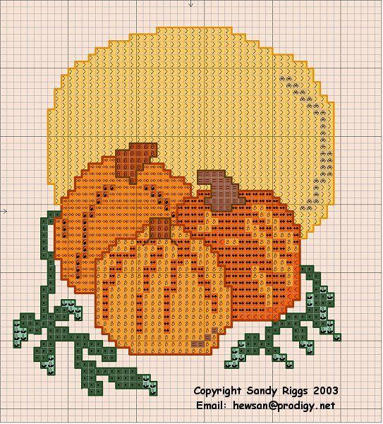 fall cross stitch patterns | Ribbonwood Cottage: Fall Free Stitchery patterns